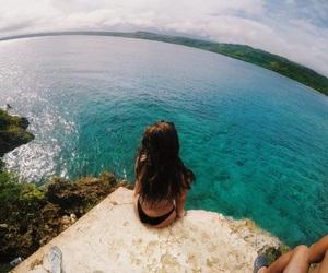 blue, hawaii, and swim image