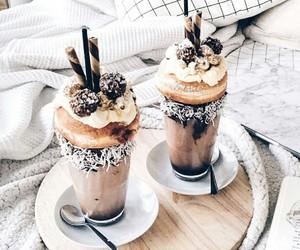 coffee, food, and sweet image