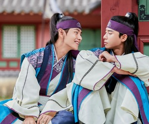 taehyung, bts, and hwarang image