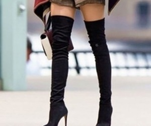 black, love, and shoes image