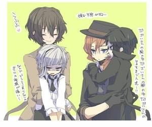 anime, atsushi, and chuuya image