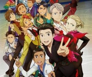 yuri on ice, yoi, and anime image