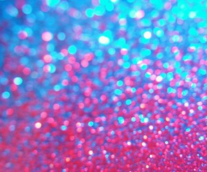 glitter, pink, and blue image