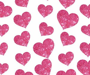glitter, heart, and patterns image