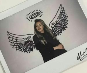 girl, angel, and photo image