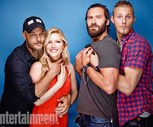 clive standen, vikings, and alexander ludwig image