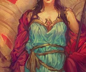 wonder woman, dc comics, and art image