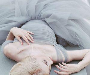 blonde, dress, and princess image