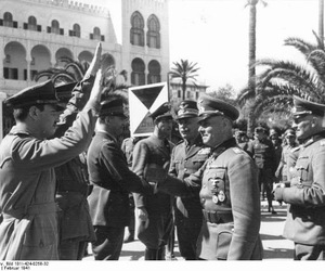 world war ii, north africa, and rommel image