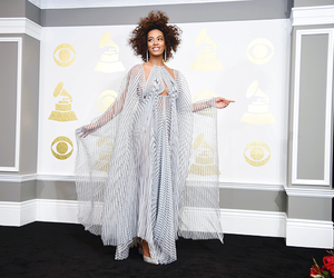 solange knowles and grammys 2017 image