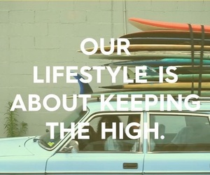 quote, surf, and surfing image