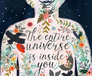 universe, quotes, and art image
