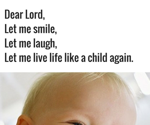 children, peace, and quote image