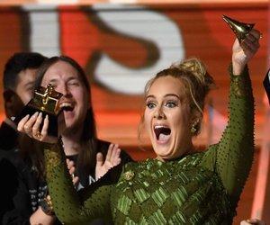 Adele and grammy image