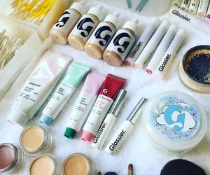 beauty, makeup, and glossier image
