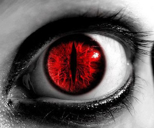 red, eyes, and eye image