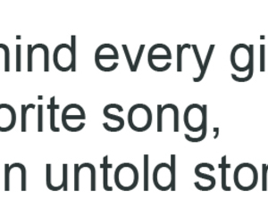 quote, girl, and song image