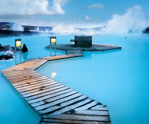 iceland, blue, and blue lagoon image