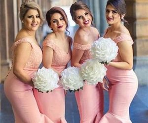 lace bridesmaid dress, bridesmaid dress, and bridesmaid dresses image