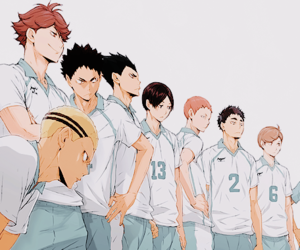 haikyuu, anime, and manga image