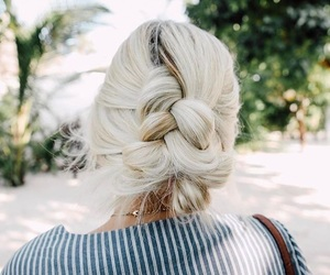braid, hair, and travel image