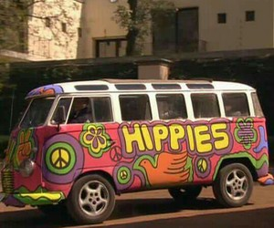 60s, hippies, and peace image