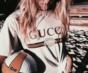 gucci, girl, and summer image