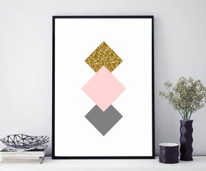affiche, glitter, and home decor image