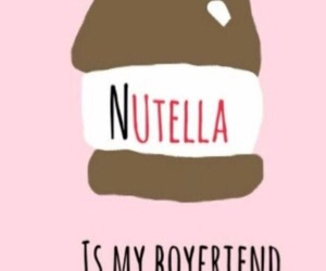 nutella, boyfriend, and food image