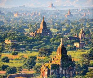 asia, landscape, and myanmar image