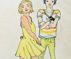 colour, drawing, and randi haugen image