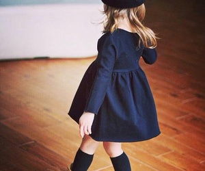 girl, kids, and fashion image