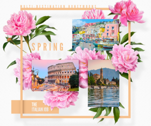 escape, flowers, and italy image