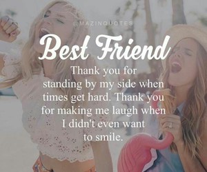 best friends, friends, and love image