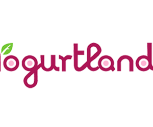 Logo and yogurtland image
