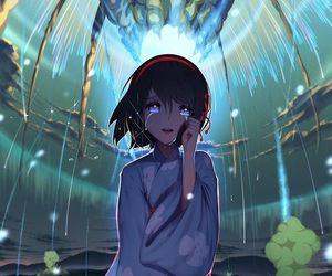 your name, kimi no na wa, and mitsuha miyamizu image