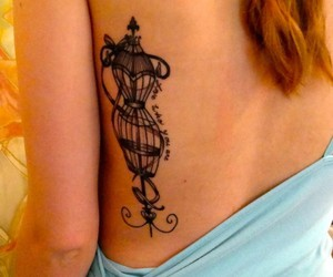 birdcage, girl, and pretty image