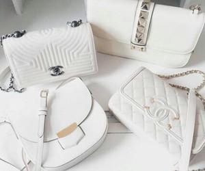 chanel, handbags, and chic image