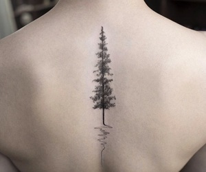 black, cool, and tattoo image