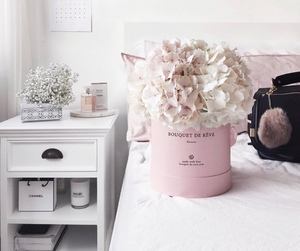 flowers, interior, and room image
