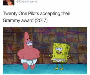 grammys, top, and twenty one pilots image