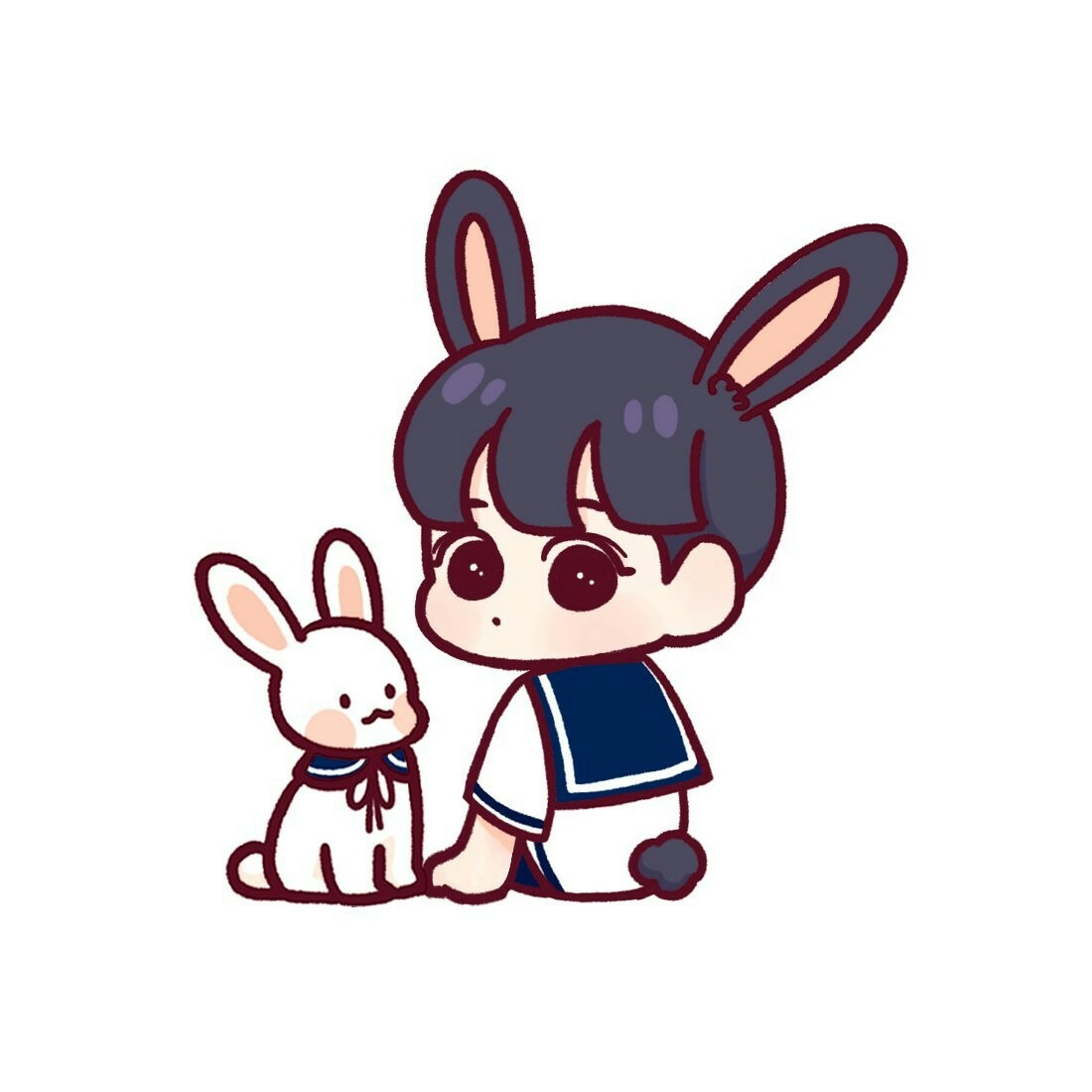 Uri Bunny C Haangnim Shared By H Park On We Heart It