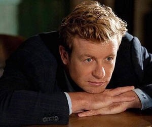 simon baker, the mentalist, and patrick jane image