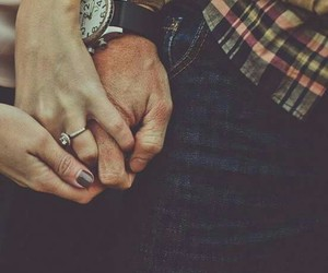 holding hands, love, and valentine image