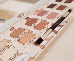 cosmetics, eyeshadow, and Nude image