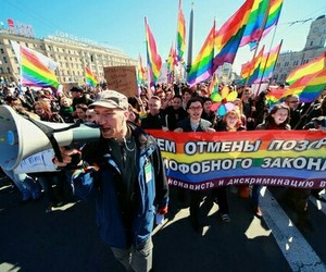 bisexual, russia, and Transgender image