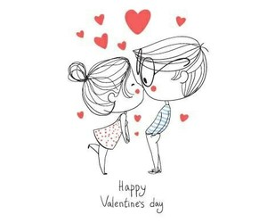 couple and happy valentines day image