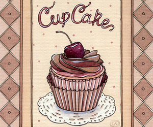 cherry and cupcake image