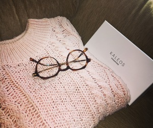 glasses and sweater image