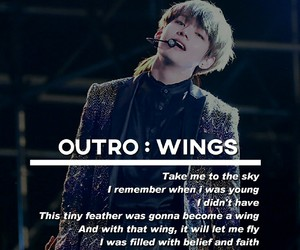 kpop, wings, and you never walk alone image